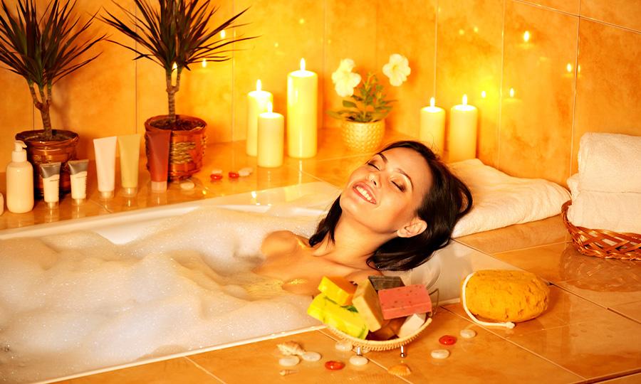 Aromatherapy Steam Bath